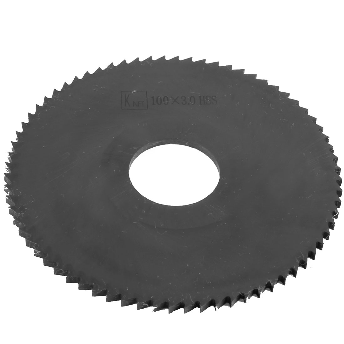 Hand Tool 100mm x 27mm x 3mm 72 Peg Teeth HSS Slitting Saw Cutter
