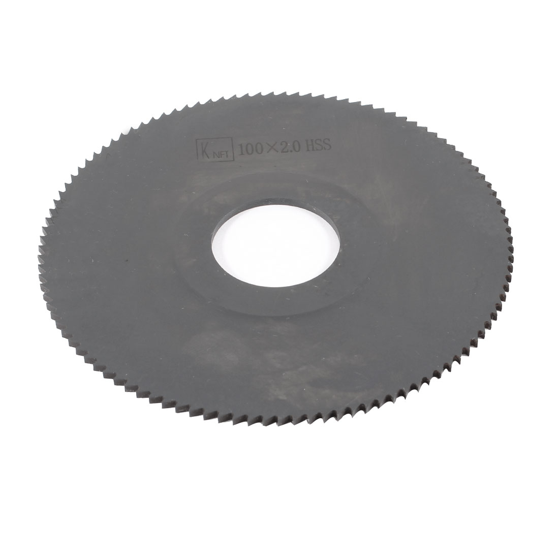 Hand Tool 100mm x 27mm x 2mm 108 Peg Teeth HSS Slitting Saw Cutter