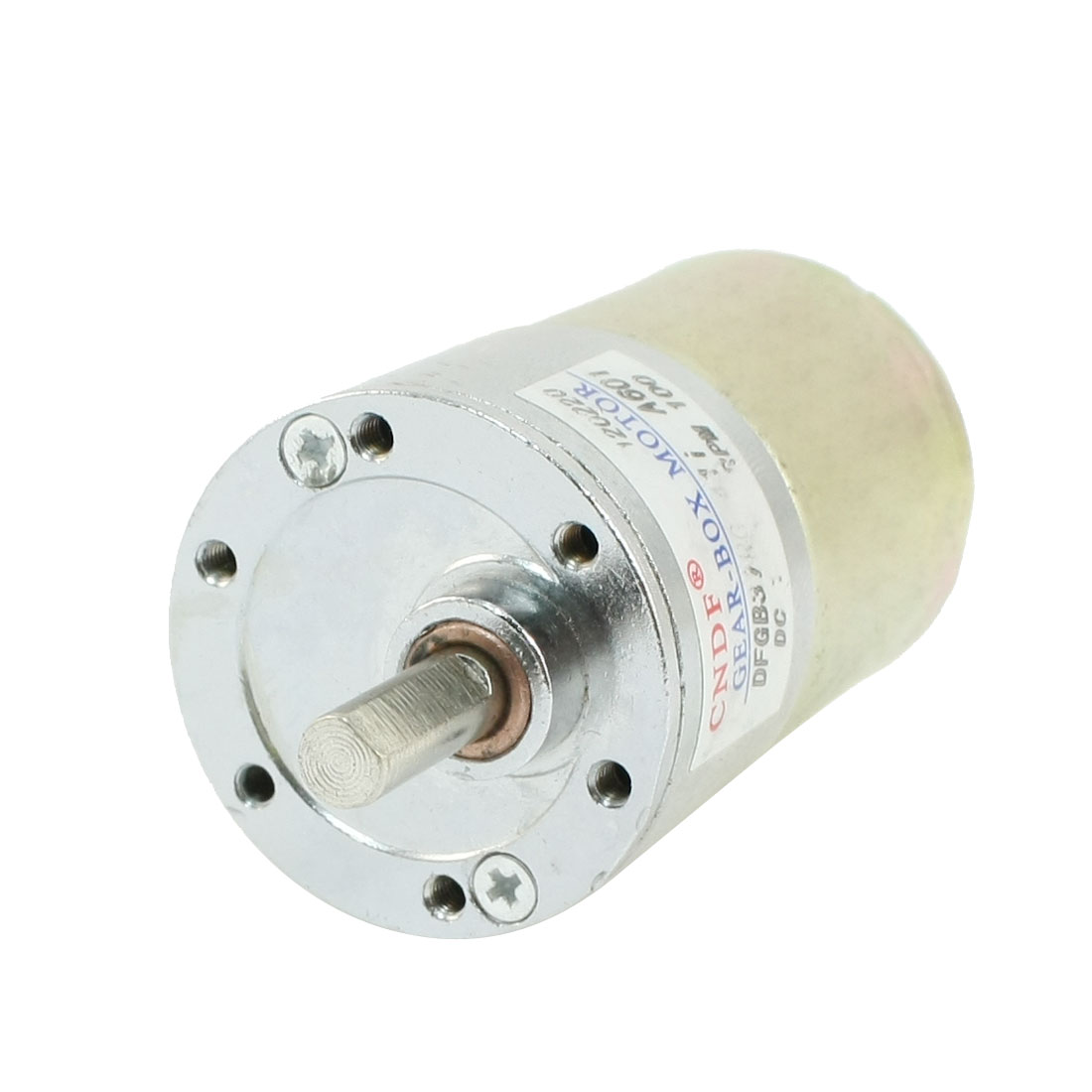 DFGB37RG-41 Cylinder Shape DC12V Speed 100RPM Geared Motor