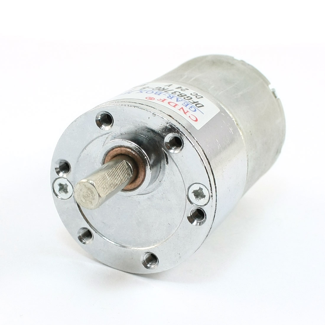 DFGB37RG-8.1i Cylinder Shape DC24V Speed 500RPM Geared Motor