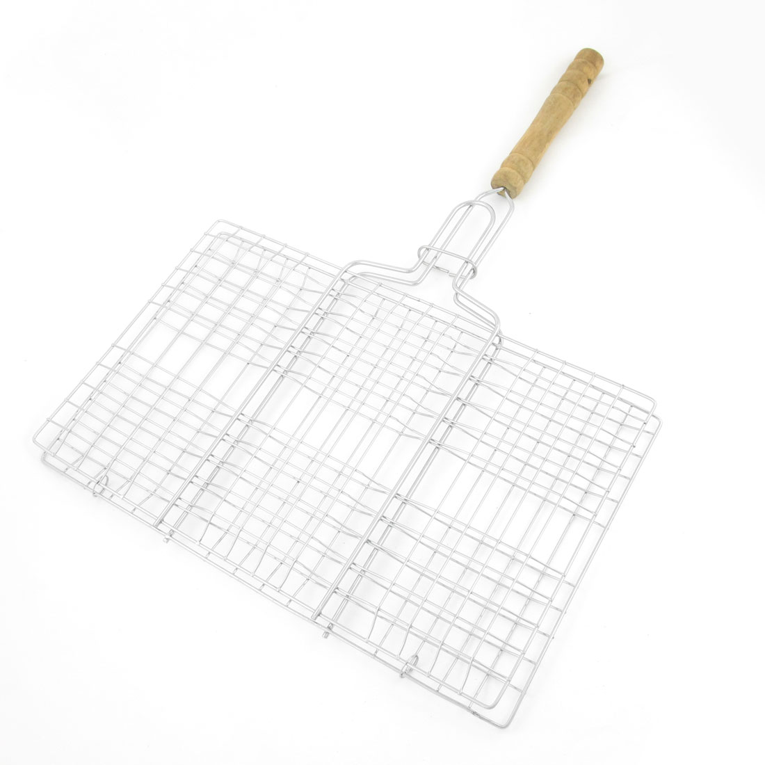 Picnic Camp Silver Tone Metal Multi Holes Grill Netting Barbecue Tool