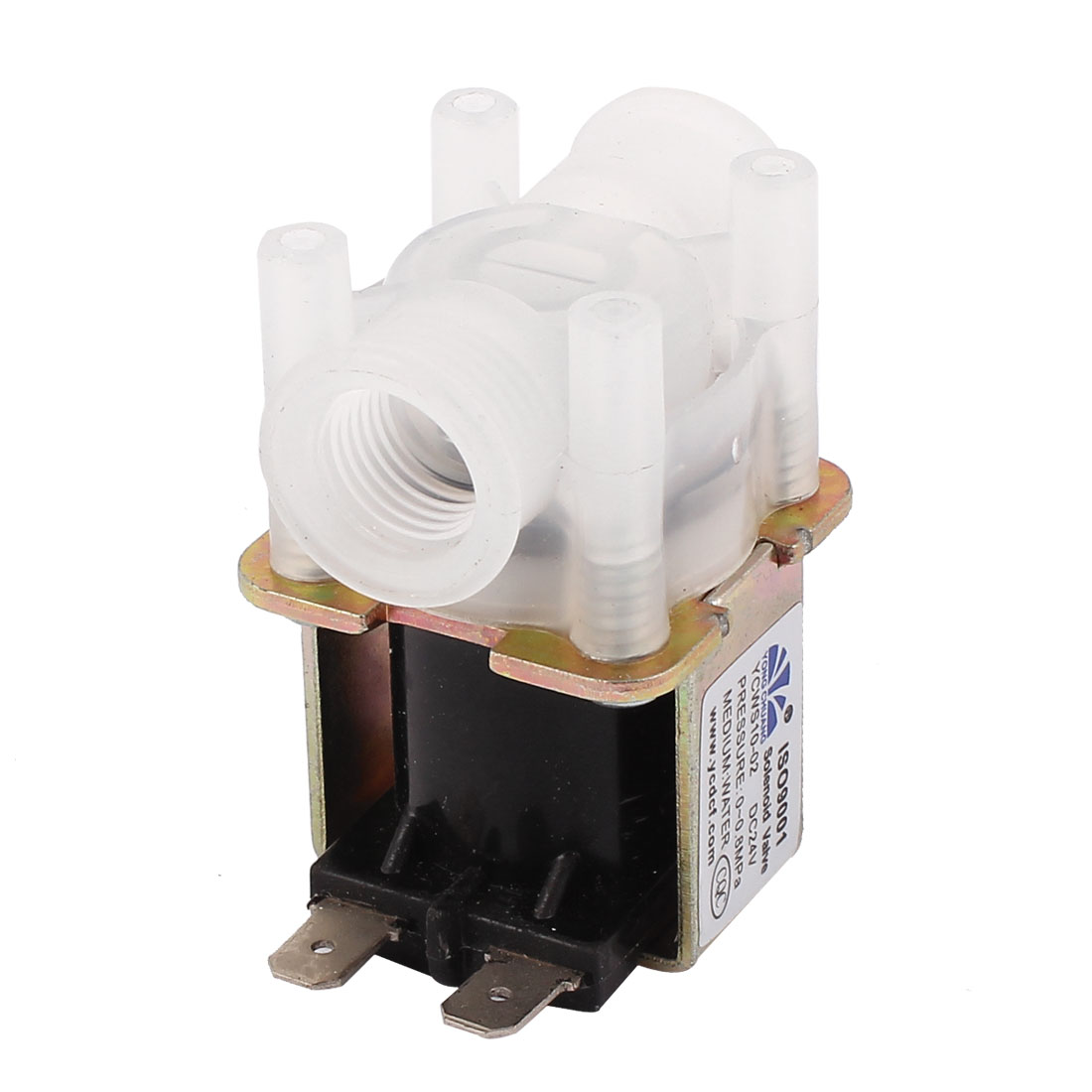 "NC 1/4""Port 2 Position 2 Way Water Inlet Electric Solenoid Valve 24VDC"