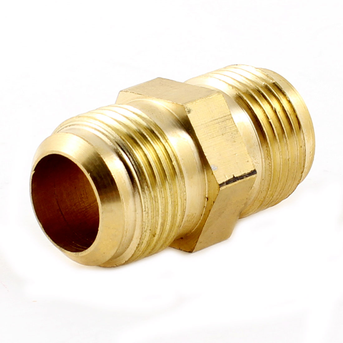 15.88mm Tubing Straight M/M Connect Joiner Pipe Fitting for Air Conditioner