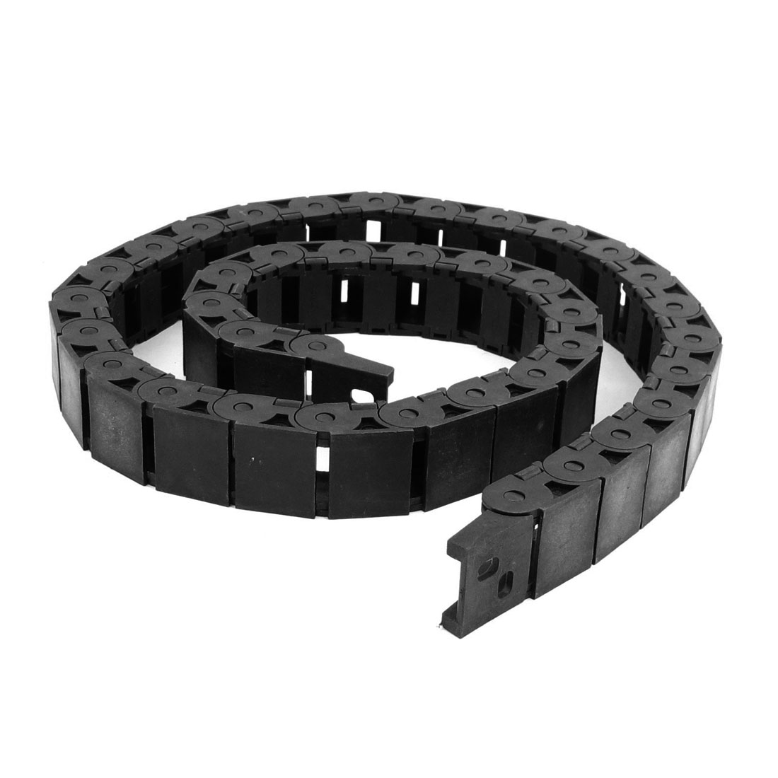 1.06M Plastic Open Type Towline Cable Carrier Drag Chain 15mm x 20mm