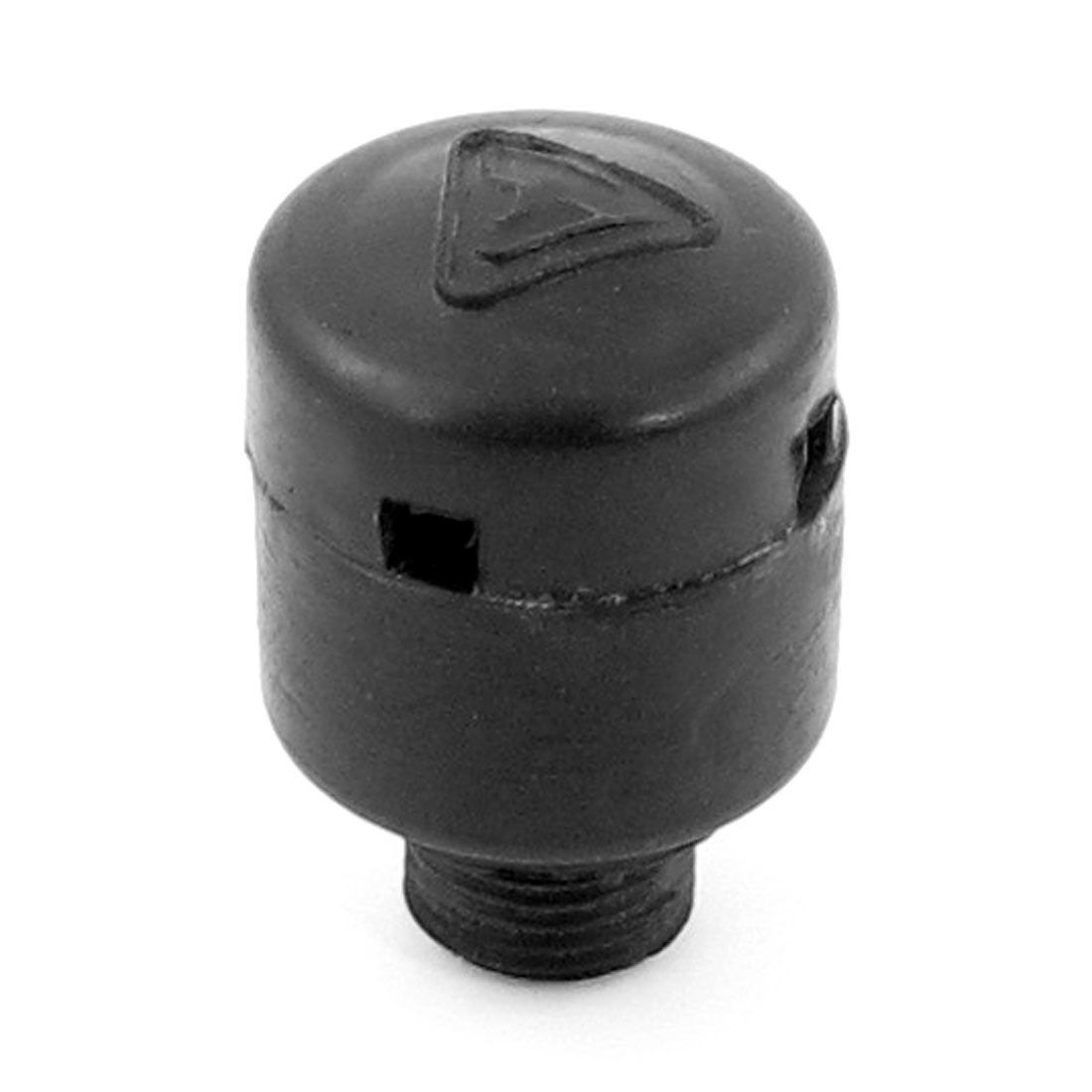 Black Hard Plastic Screw Type Breathing Oil Connector for Air Compressor