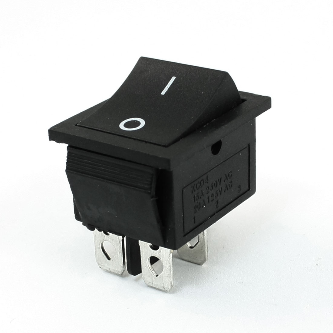 DPST 4Pin 2Position Snap in Rocker Switch 15A 250VAC 20A 125VAC