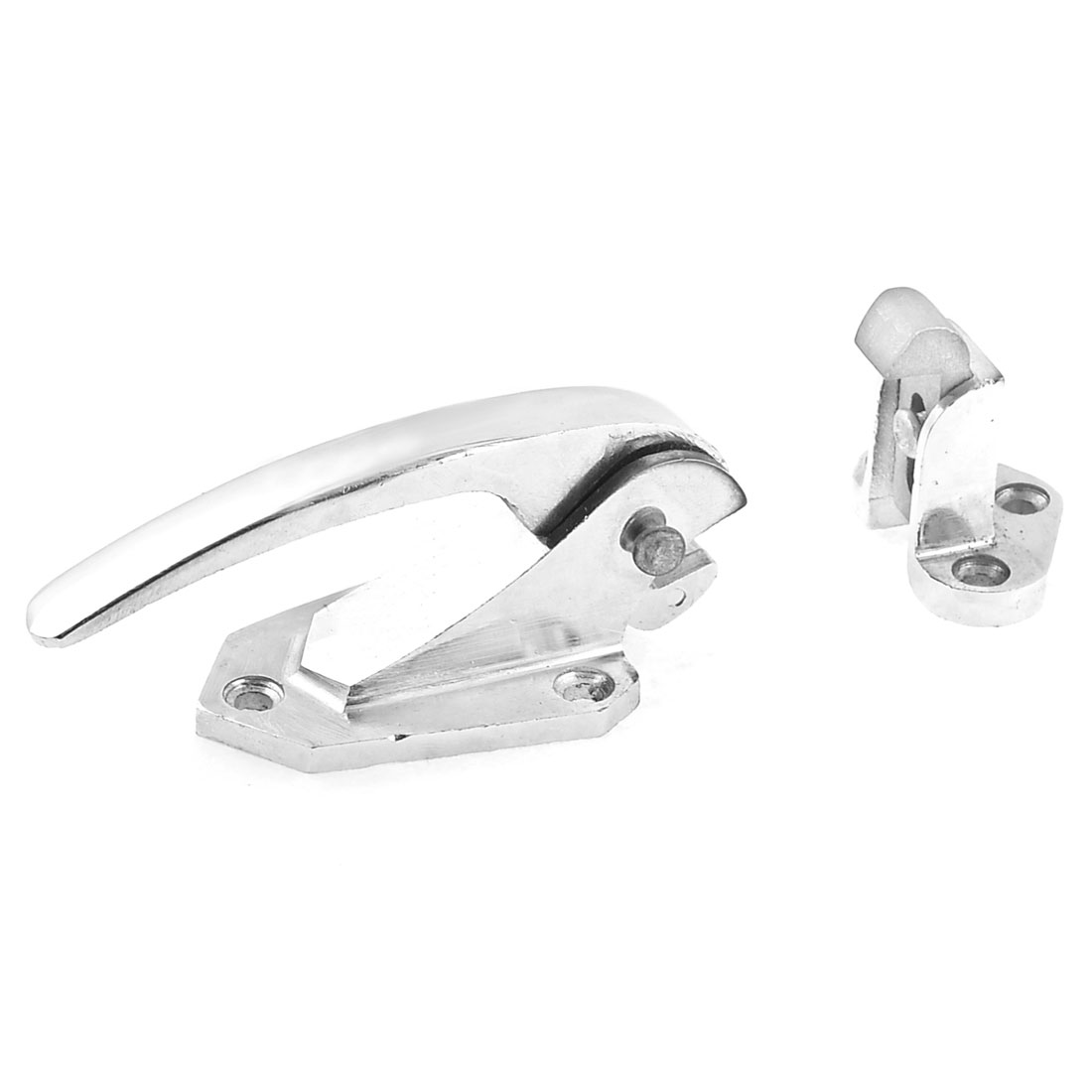 Adjustable Sliver Tone Industrial Oven Door Lock Pull Handle Latch
