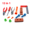 13 in 1 Plastic Engineer Instrument Educational Screwdriver Pliers Toy for