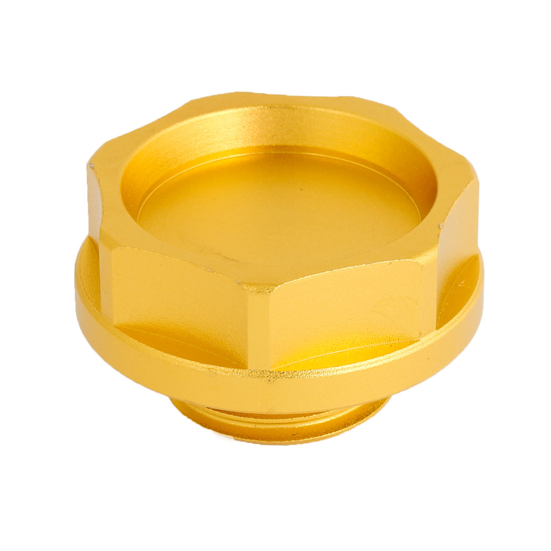 Car Modified Parts Gold Tone 33mm Screw Dia Engine Oil Filler Cover Cap for Toyota