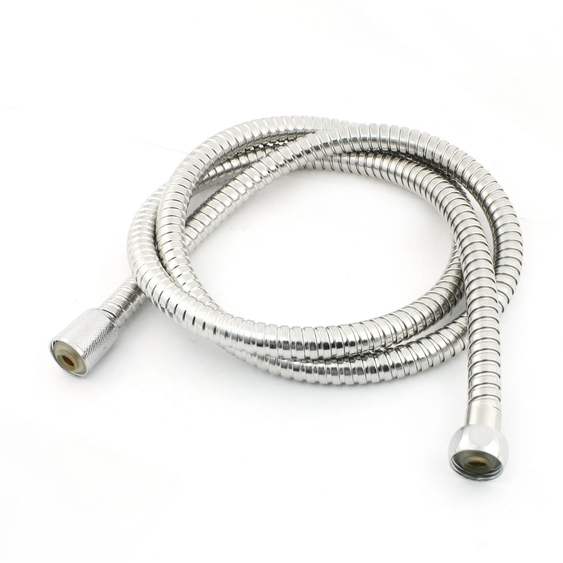 "Bathroom 1/2""NPT F/F Thread Spiral Flexible Shower Hose Pipe 57"" Long"