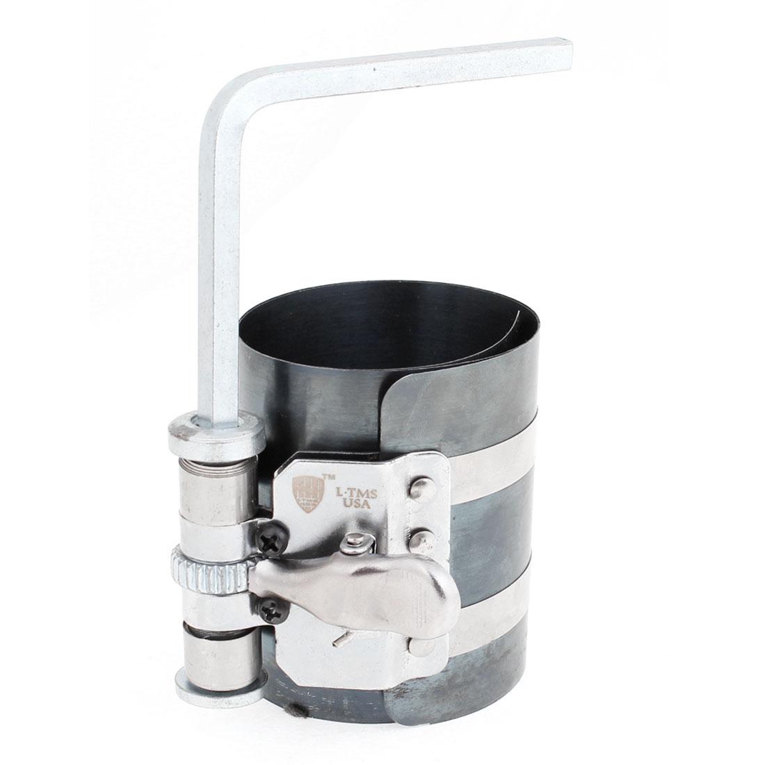 "3""Height 53-125mm Capacity Piston Ring Compressor Automotive Hand Tool"