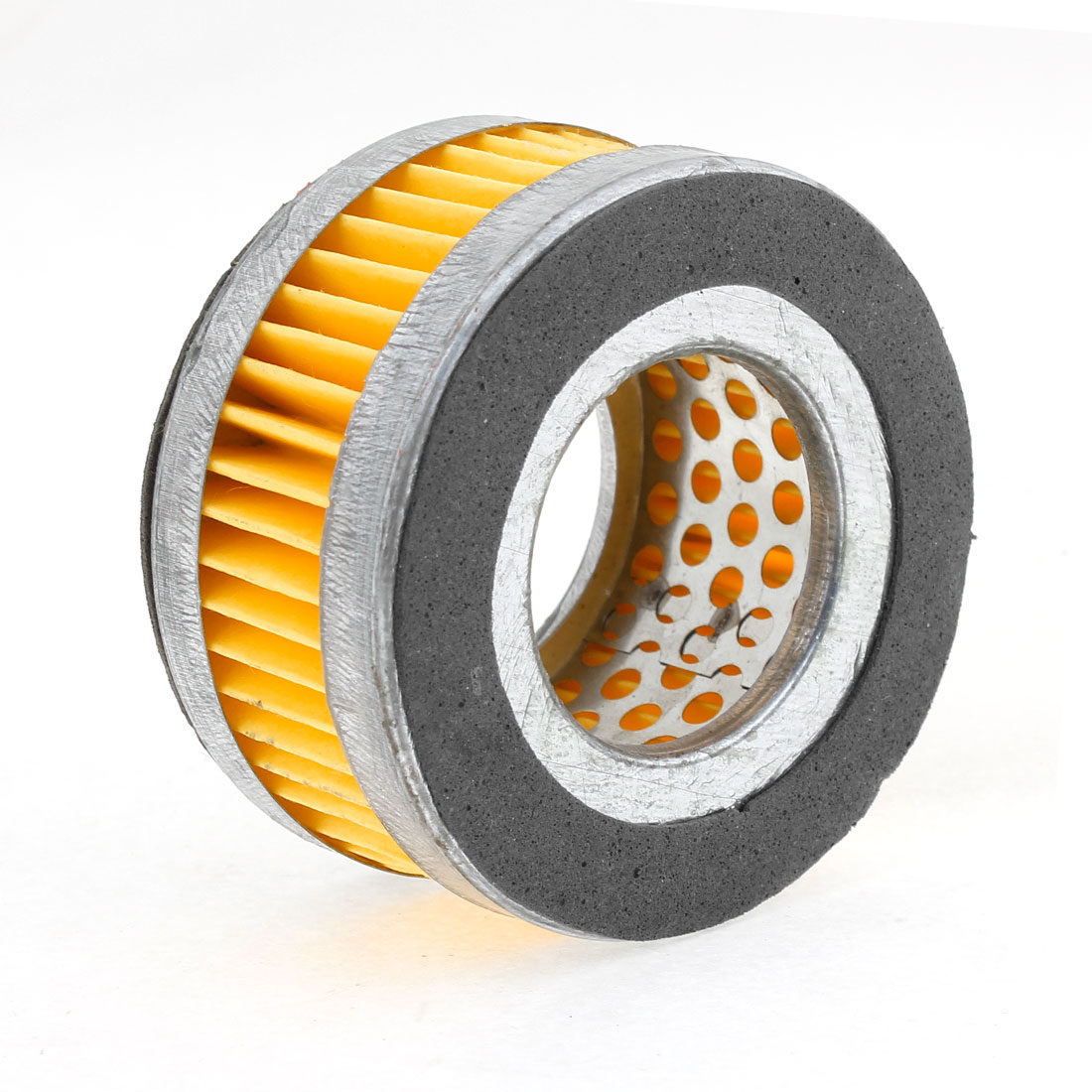 Car Auto Air Compressor Cylindrical Muffler Filter 35mm x 69mm x 35mm