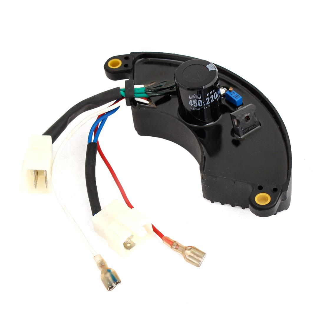 Motorcycle Parts Generator 5KW 220uF 450V Voltage Regulator Capacitor