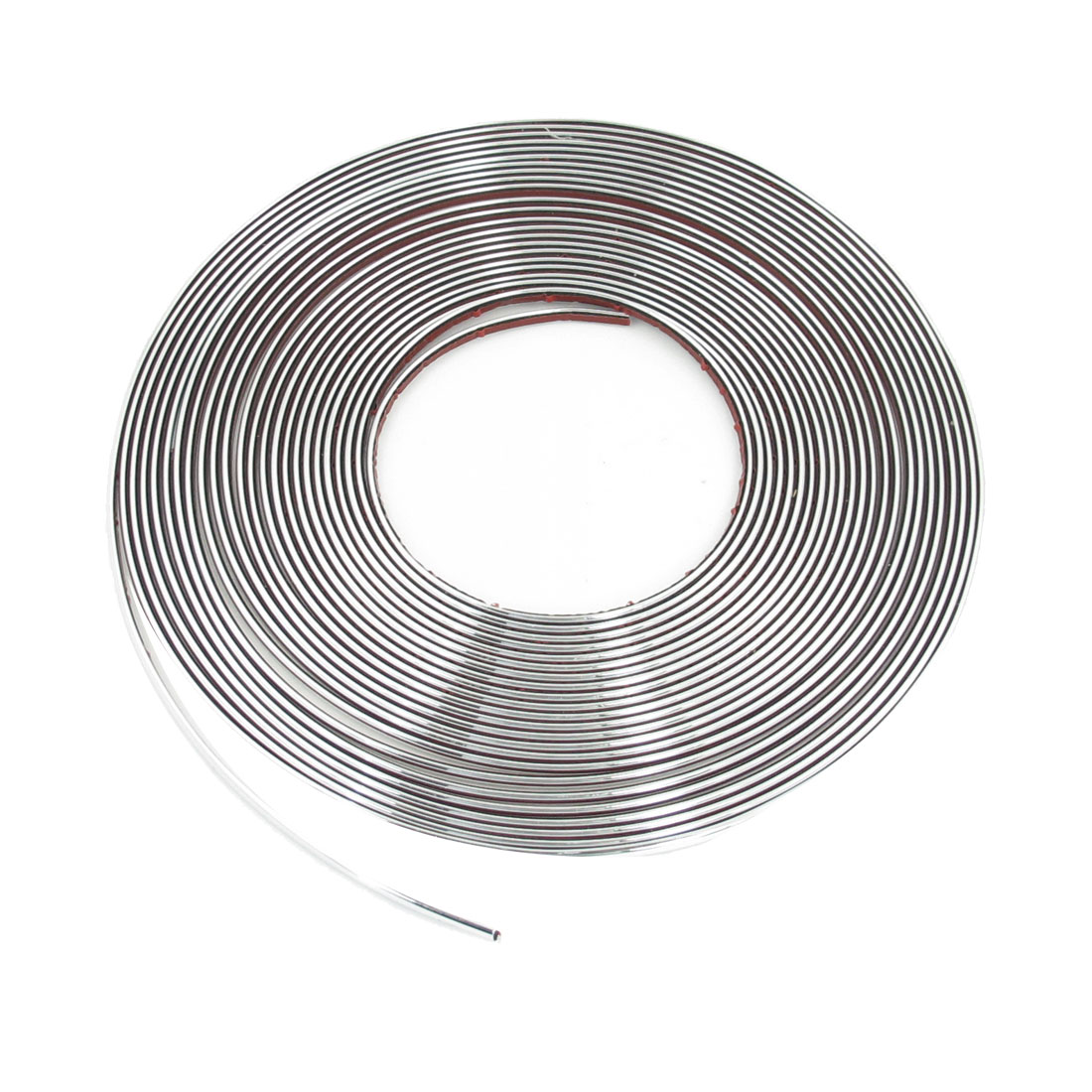 Car Dashboard Window DIY 6mm Width Moulding Trim Strip Bar Silver Tone 15M
