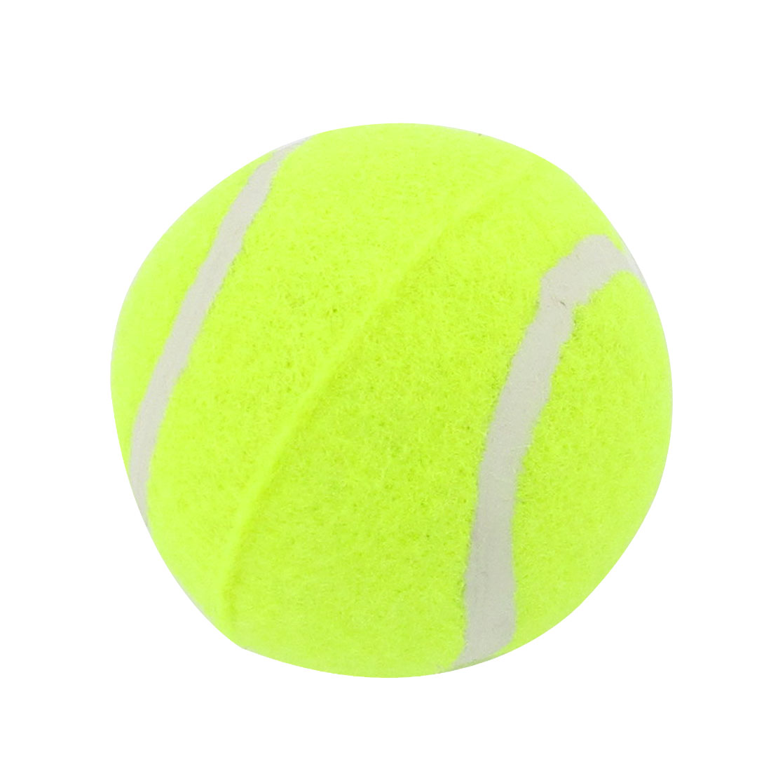 "2.4"" Diameter Yellow Green Tennis Balls Chase Run Toy for Puppies Dog"