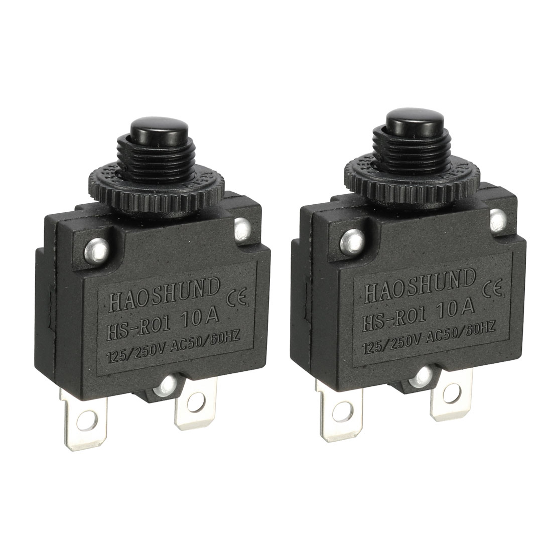 Air Compressor 10A ST-101E Overload Protection Circuit Breaker 2 Pcs