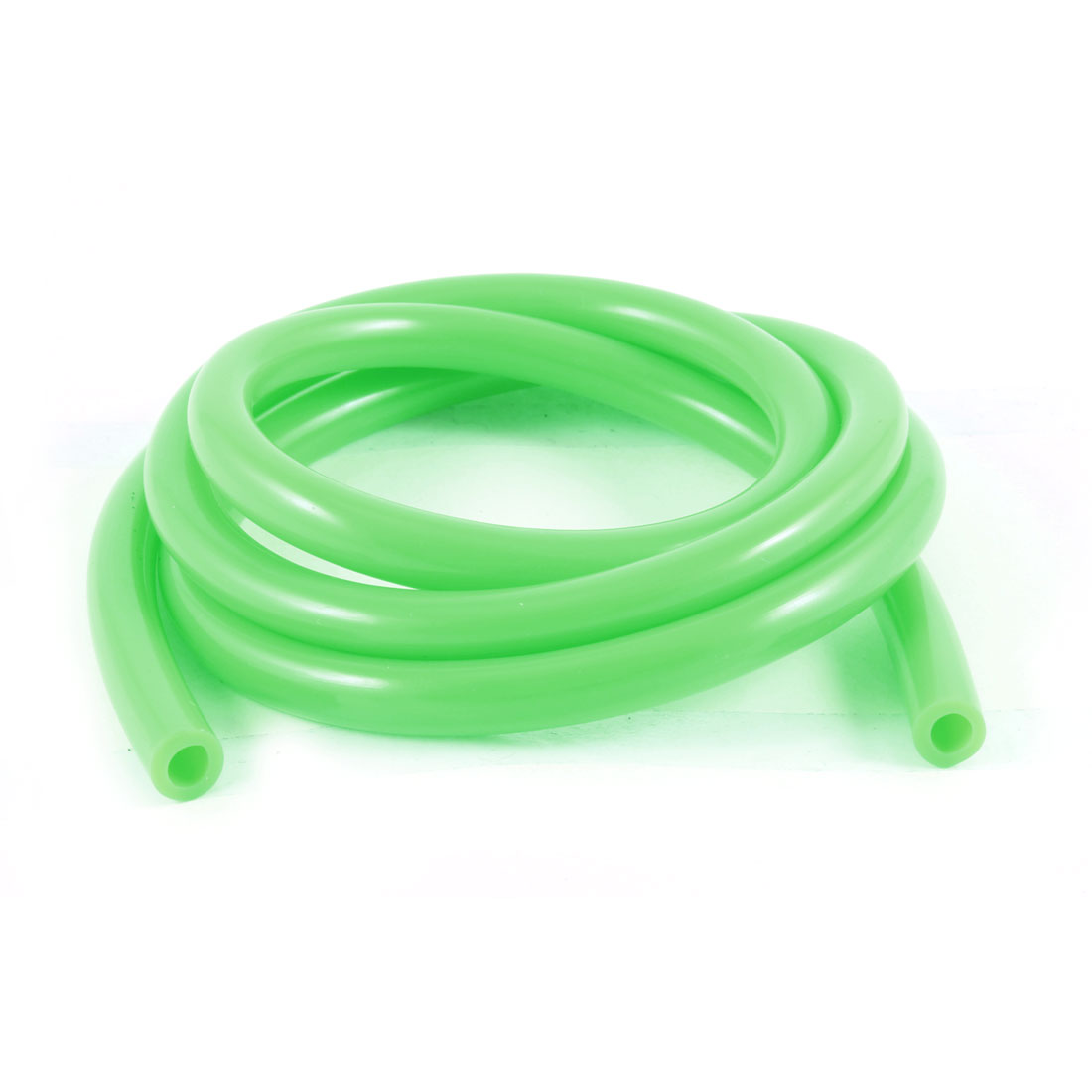 Motorcycle Modified Parts 100cm Length Green Rubber Oil Tube Pipe Line