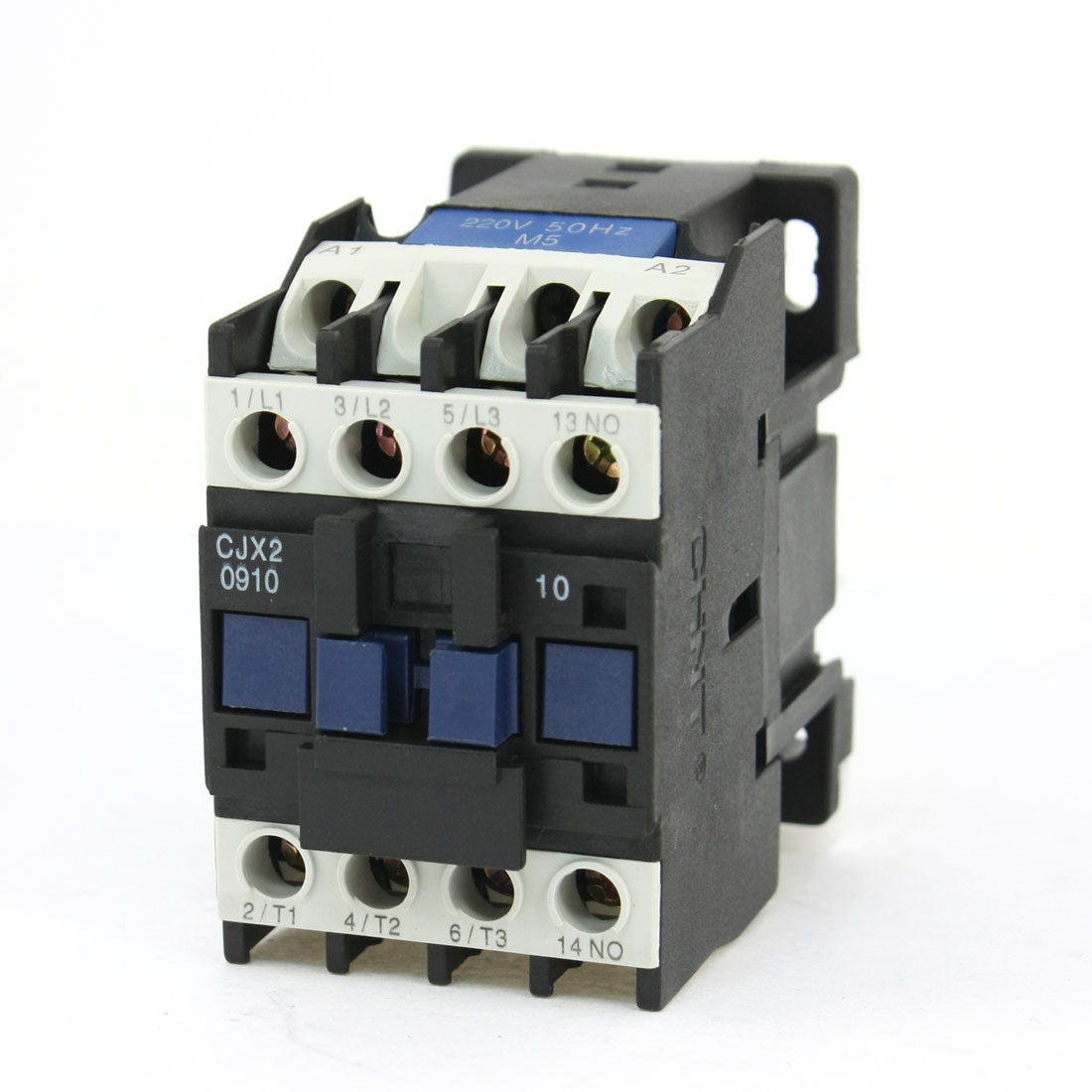 CJX2-09 Motor Control 3 Poles 1 NO Coil Volt 220V AC Contactor