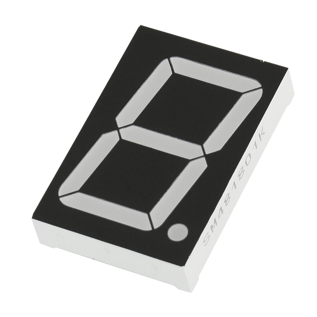 56mm x 38mm 1 Digit Red Light LED Numeric Display Common Anode