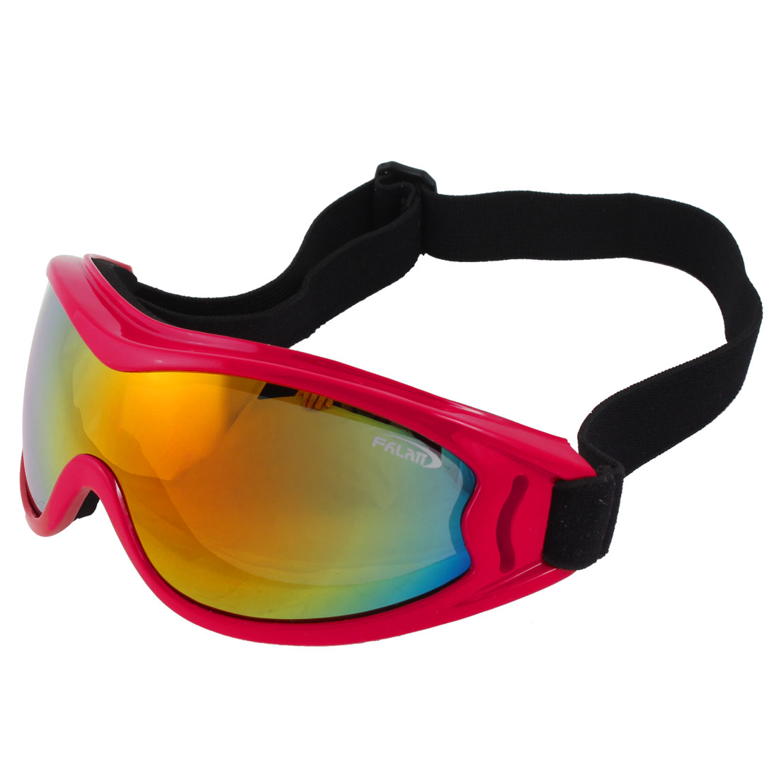 Colorful Lens Ski Snowboard Racing Motorcycle Sports Goggles Glasses Mirror Red