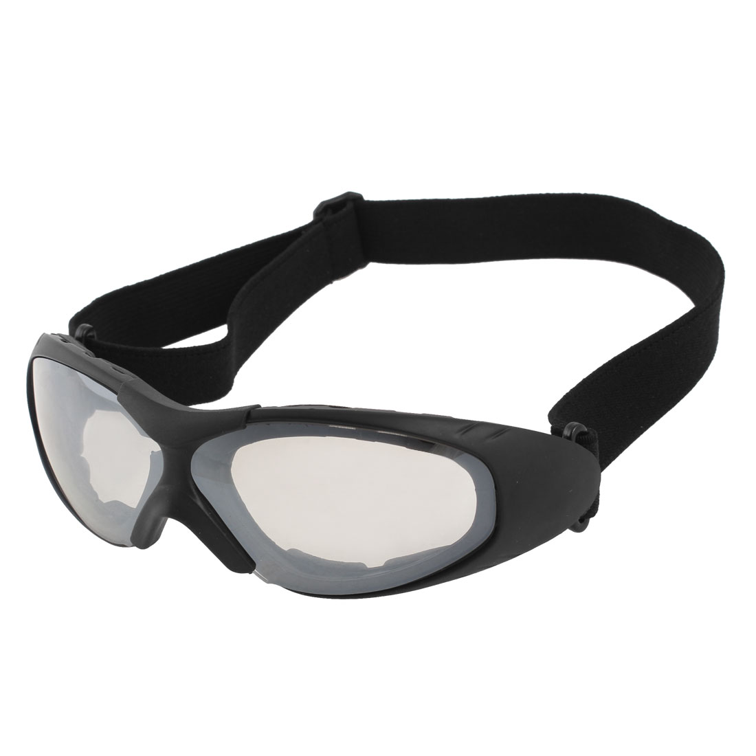 Climbing Racing Skiing Safety Glasses Clear White Lens Ski Sports Goggles UV400