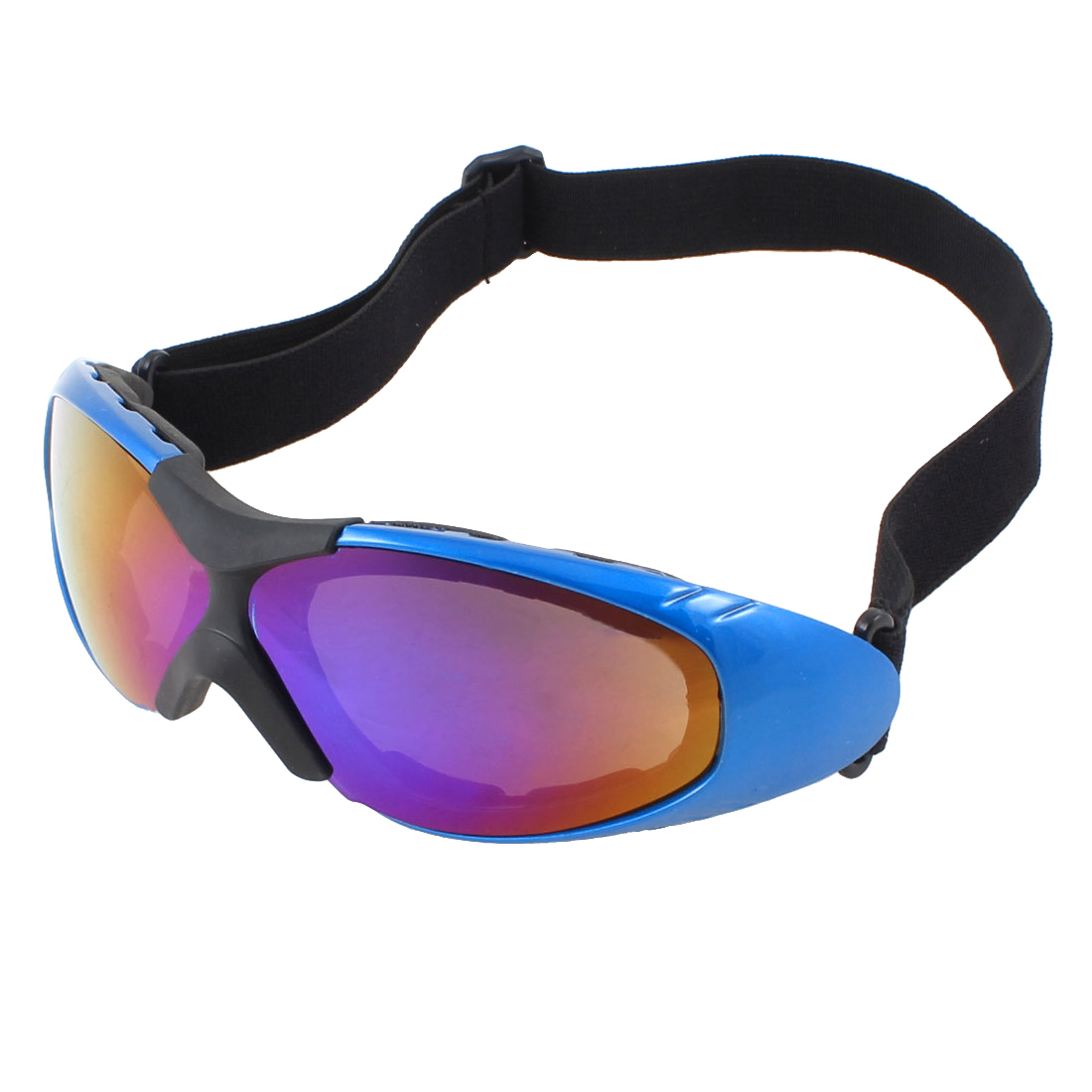 Adults Full Rim Colorful Lens Motorcycle Safety Skiing Snow Sports Goggles Glasses