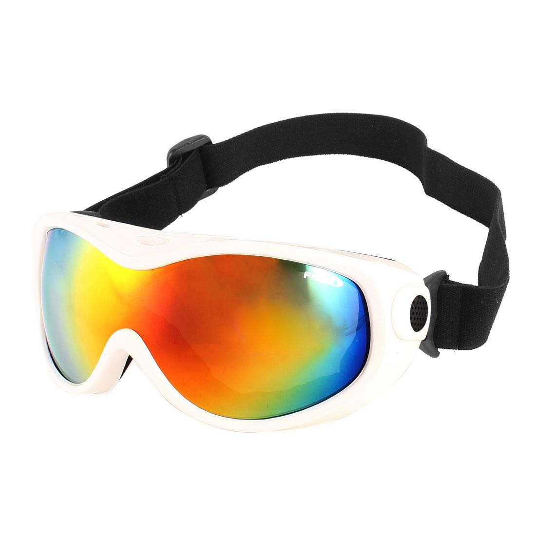 Lady Man Wide Rim Anti Fog Multicolor Lens Camping Ski Snowboard Goggles