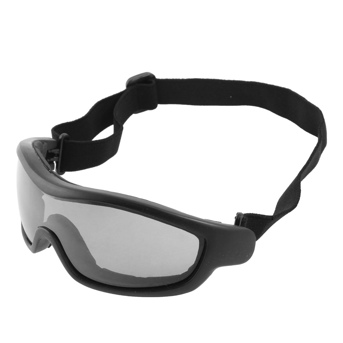 Adult Anti Fog Elastic Band Motocross Ski Snowboard Sport Goggles Glasses Black