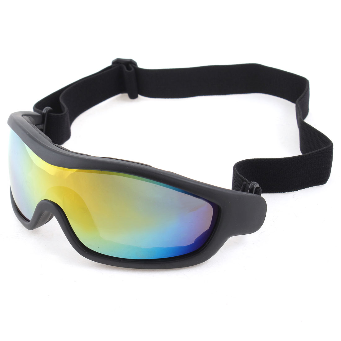 Adult Outdoor Ski Sports Wargame Racing Riding Climbing Goggles Glasses Black