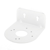 Aluminum L Shape White Ceiling Mount CCTV Dome Camera Bracket Stand