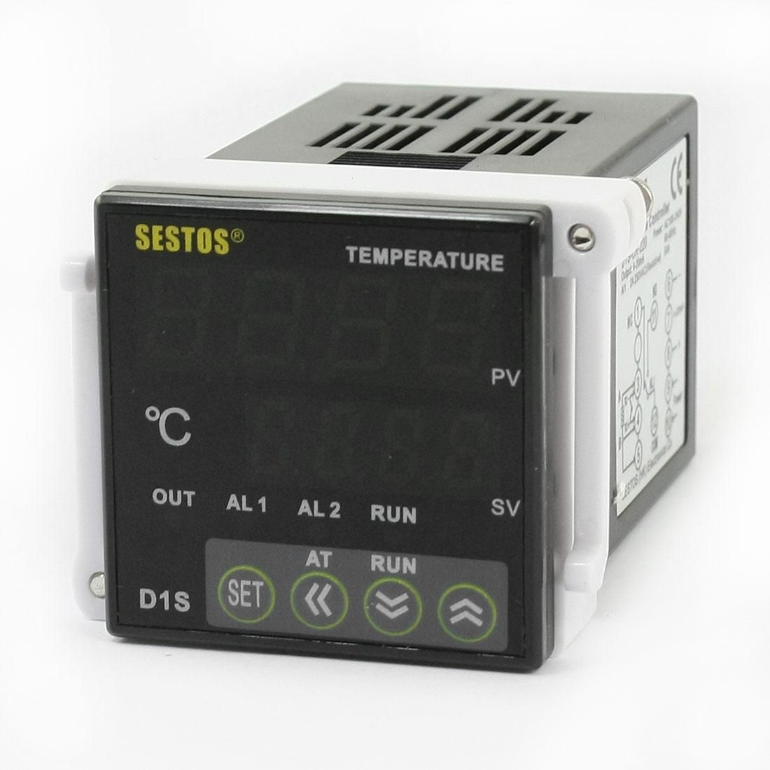 -50-1700C Digital Temperature Controller Thermostat Sensor Relay AC 100-240V