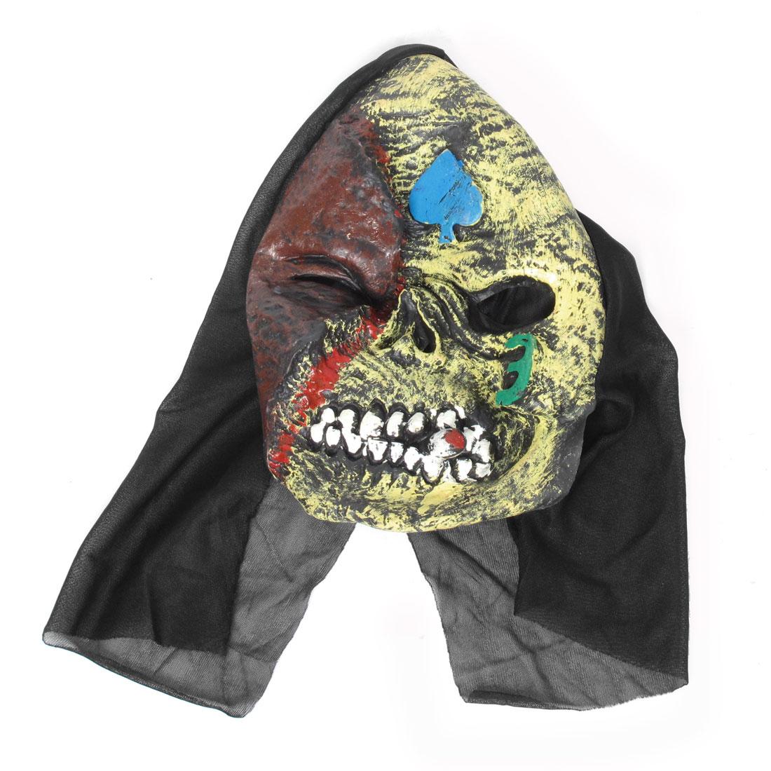 Halloween Party Skull Style Scare Demon Full Face Horrific Mask