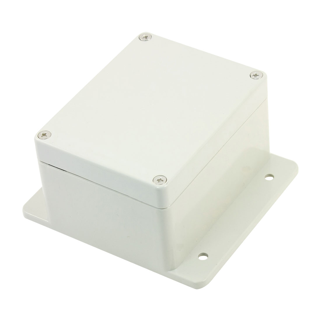 130mmx115mmx70mm Cable Connect Plastic Switch Junction Box Case Off White
