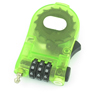 Green 3 Digit 0-9 Number Resettable Luggage Coded Lock Padlock
