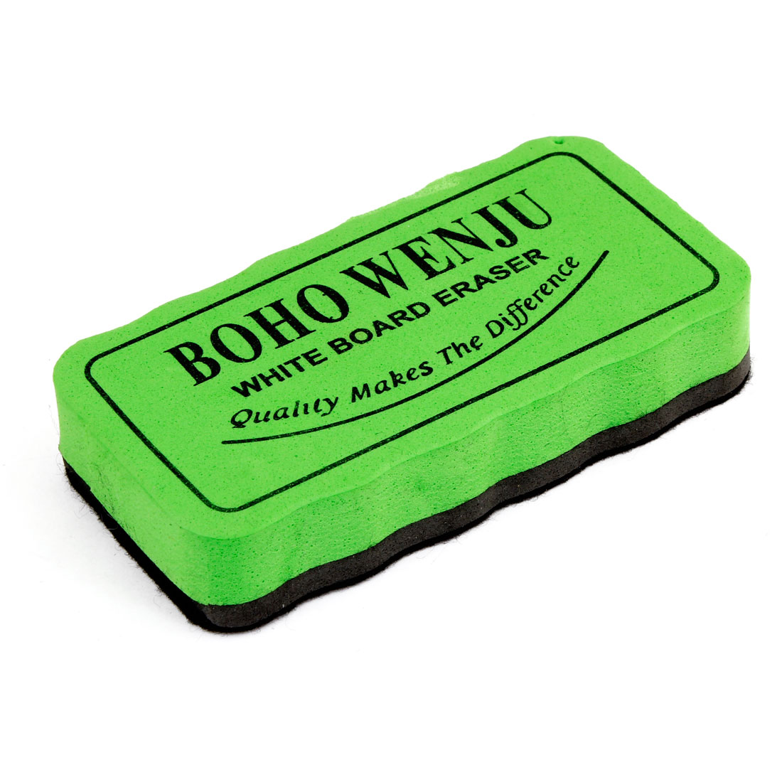 Magnetic Rectangular Green Black Blackboard Whiteboard Cleaning Eraser