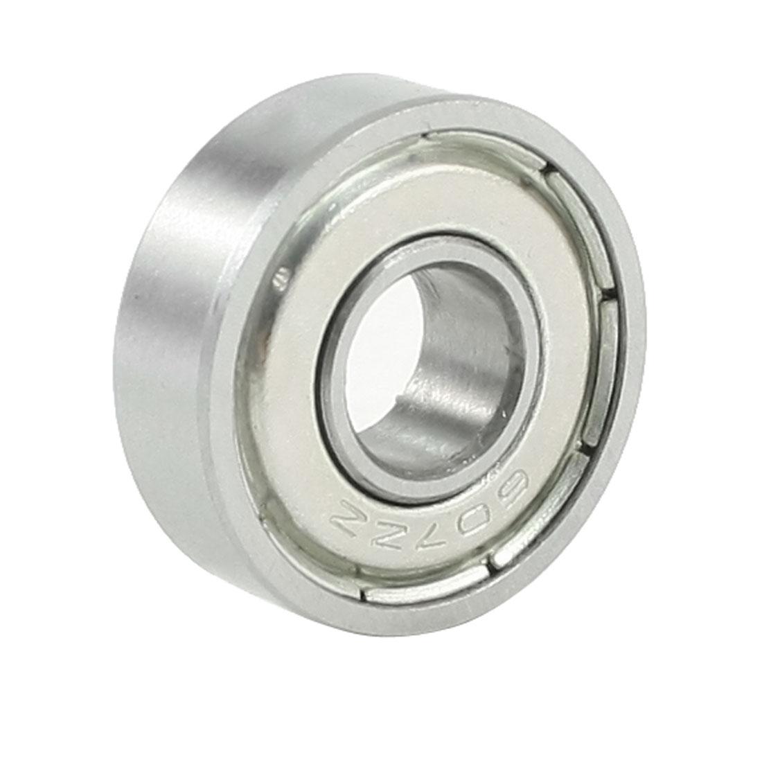 7mmx19mmx6mm Double Shielded 607ZZ Deep Groove Ball Bearing