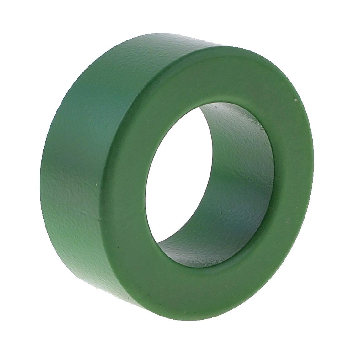 37mm Inner Diameter Ferrite Ring Iron Toroid Core Green T63