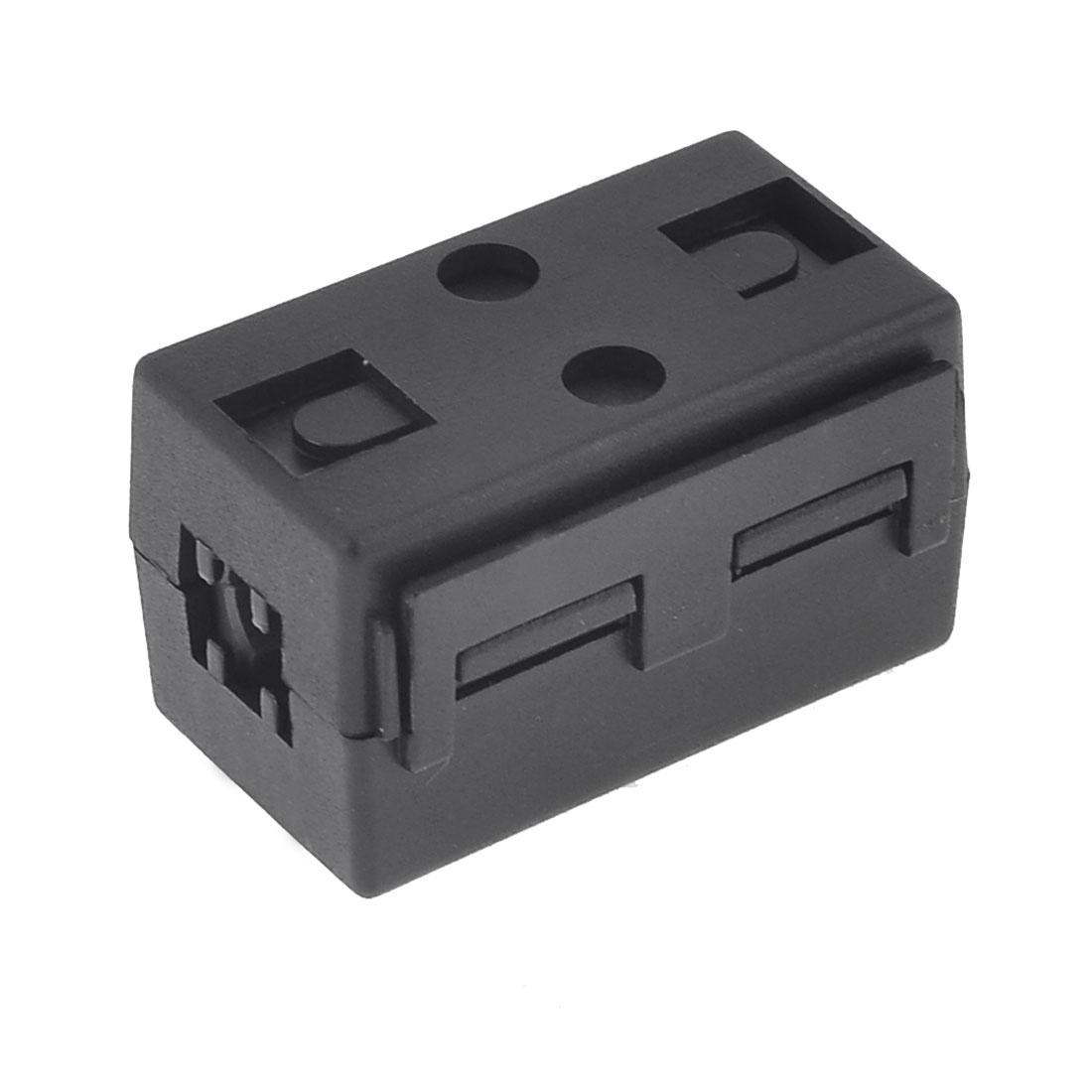 Black Plastic Case EMI Soft Ferrite Core UF65B for Power Supply