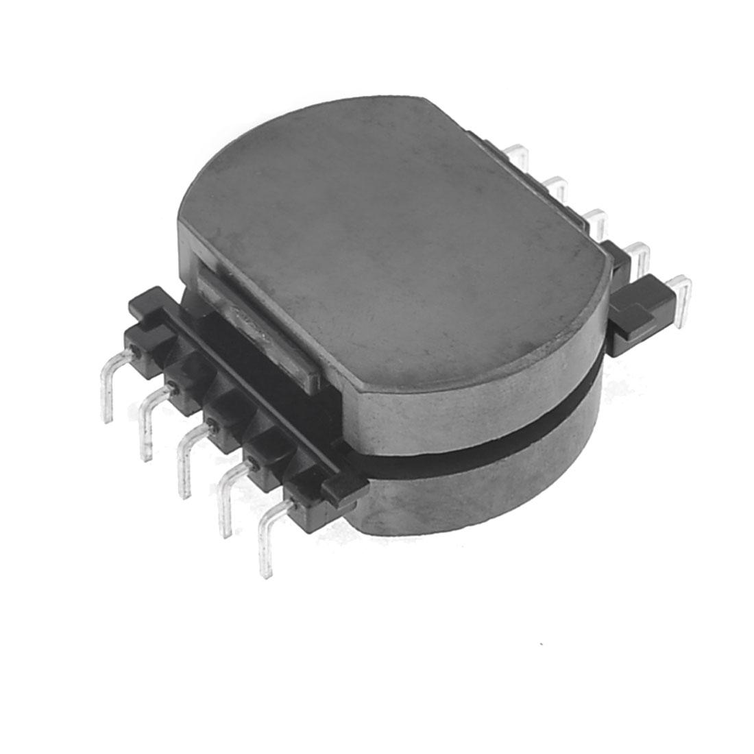 Inductor 10 Pin Plastic Coil Former Robbin w POT3312 Ferrite Cores