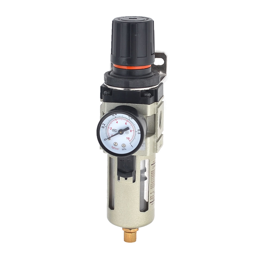 1.0MPa 10.2kgf/cm2 Pneumatic Pressure Reducing Regulator w Bracket