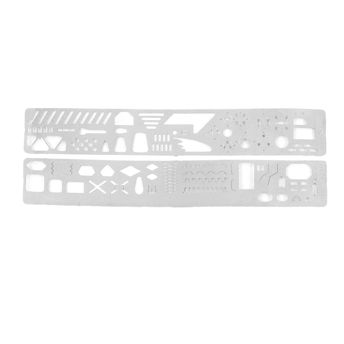 2 Pcs UA-90035 Metal Modeling Tool Set Scriber Forming Block