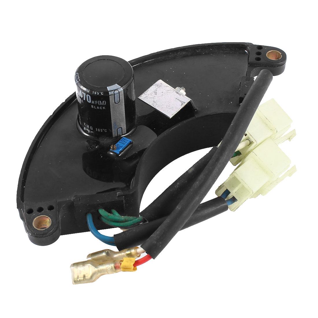 Motorcycle Generator 6.5KW 470uF 250V Regulator Capacitor Black
