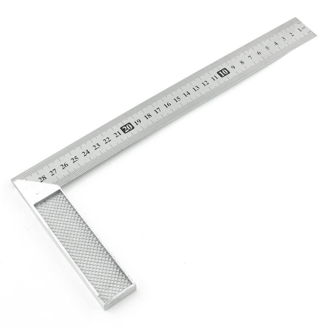 30cm 12 Inch 90 Degree Right Angle L Shape Square Ruler Tool