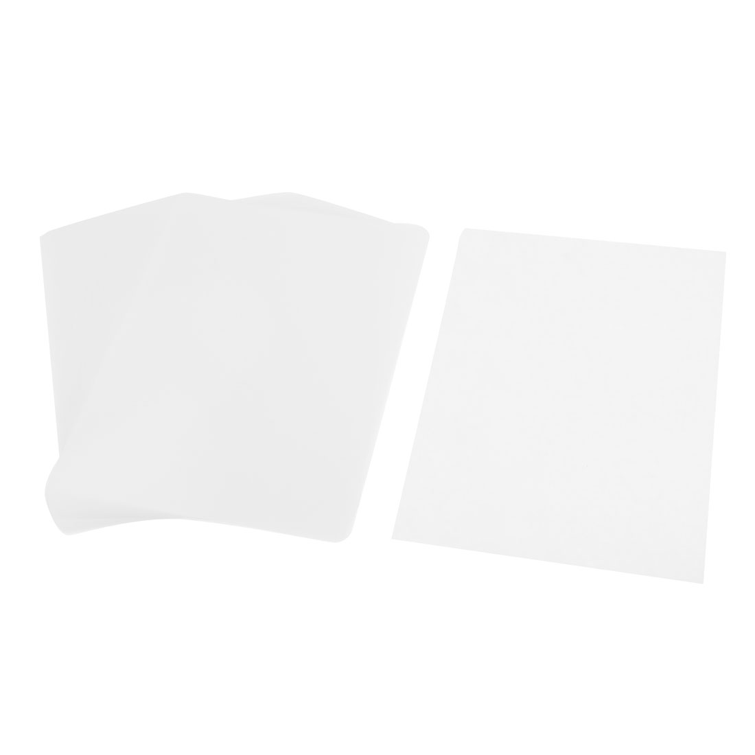 100 Pcs 135mm x188mm 55 Mic 5R Photo Paper Cards Laminating Pouch Film