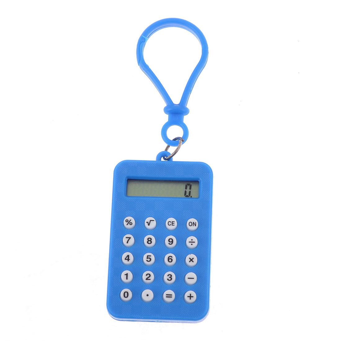 Blue Pocket Lobster Clasp Electronic Calculator for Student Counting