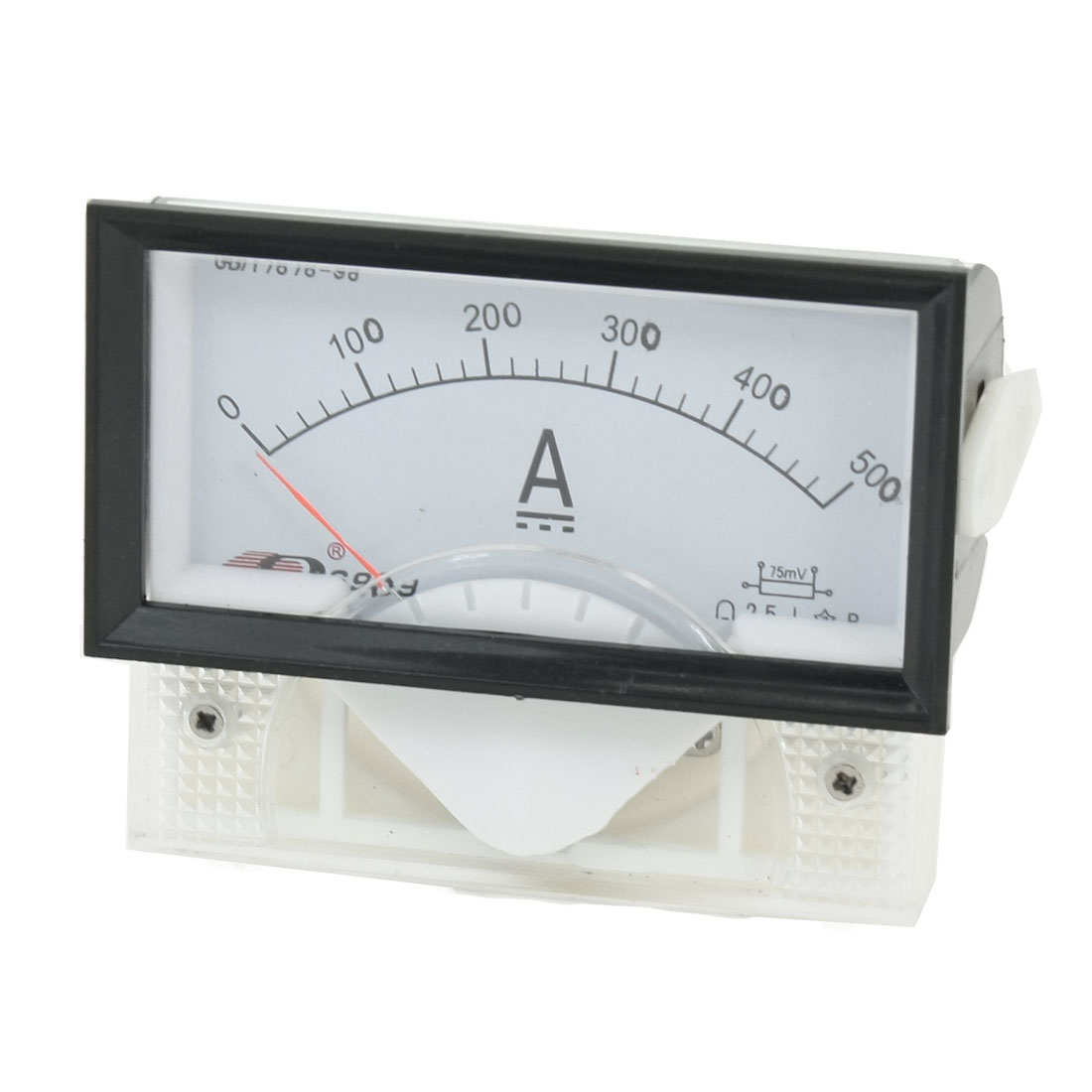 Plastic Case DC 0-500A Current Analog Panel Meter Ammeter Tester
