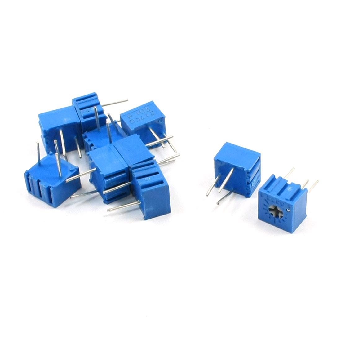 10pcs 10K Ohm Trimmer Pot Potentiometer Variable Resistors 3362P-103