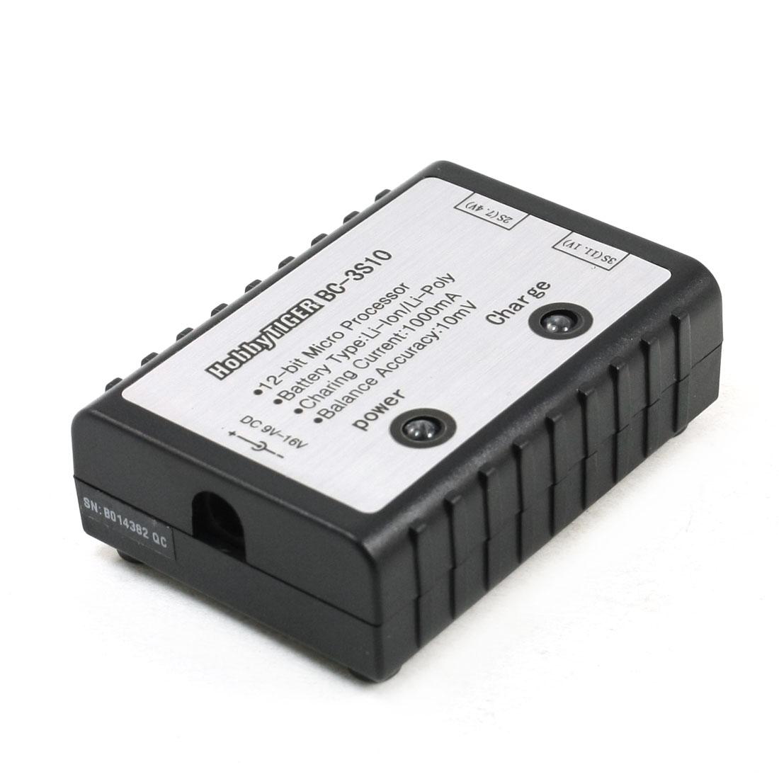 BC-3S10 1000mA Balance Charger 2S/3S 7.4V 11.1V Li-Po/LI-ION Battery