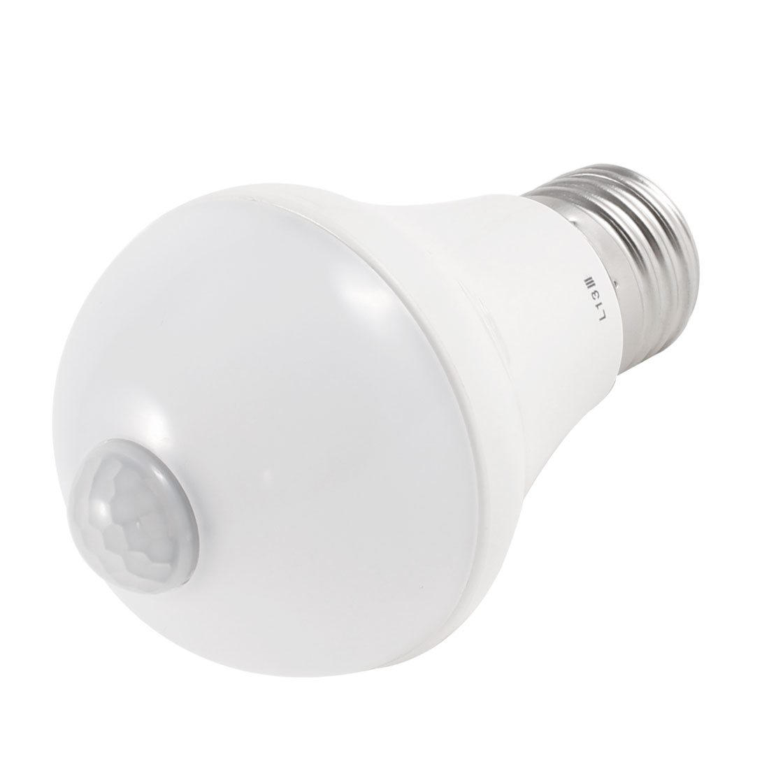 Indoor E27 Motion Sensor Warm White Light LED Ball Bulb Lamp 5W AC 220V