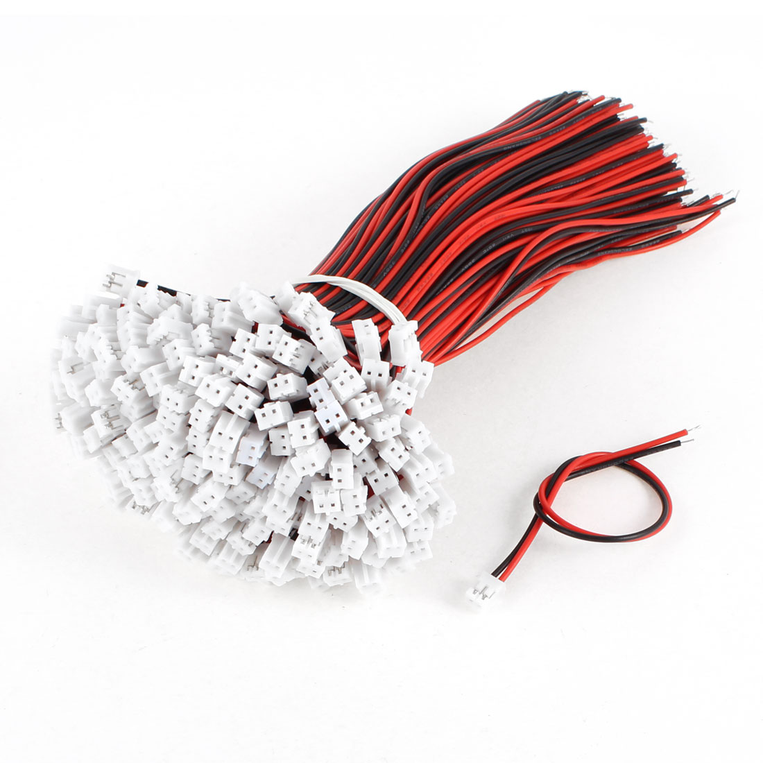 200 Pcs Single End 2 Terminal Power Supply Cable for CCTV Camera LED Board